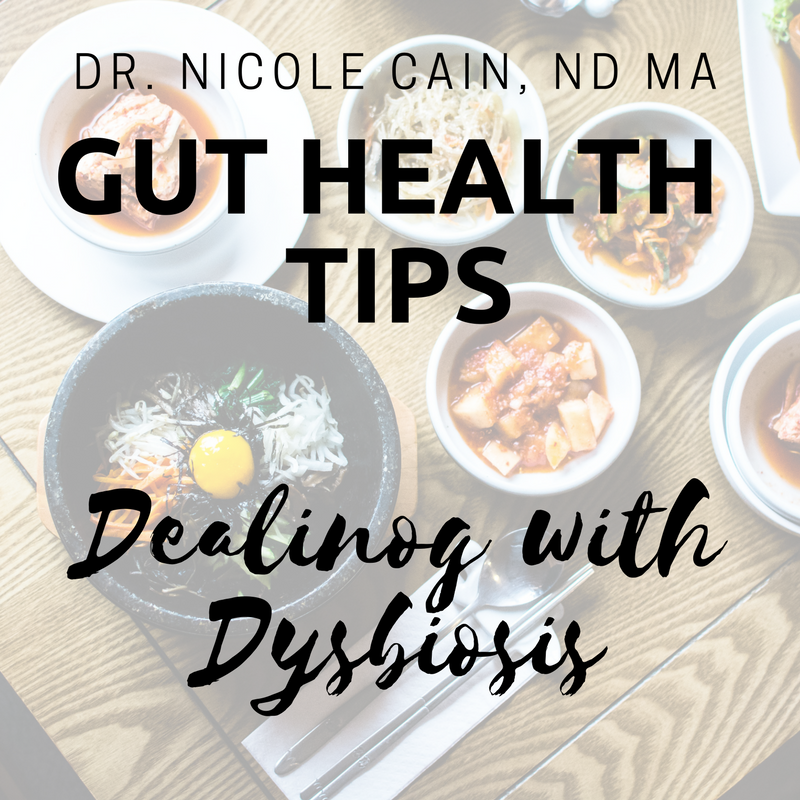 Gut Health Tips: Dealing with Dysbiosis