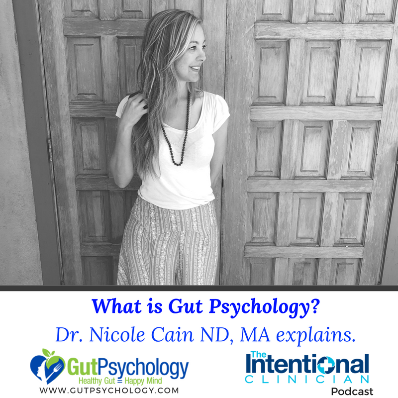 Listen to Dr. Nicole Cain ND MA's interview about the Gut Psychology Program.